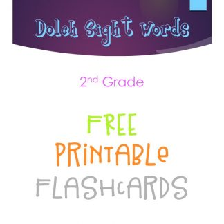 Dolch Sight Words Flashcards – 2nd Grade