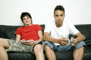 interact with teenagers