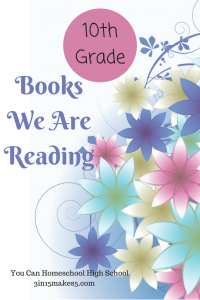 10th Grade Book List - Books We Are Reading