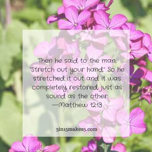 Matthew 12:13