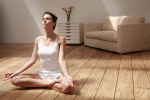 stress and confidence yoga
