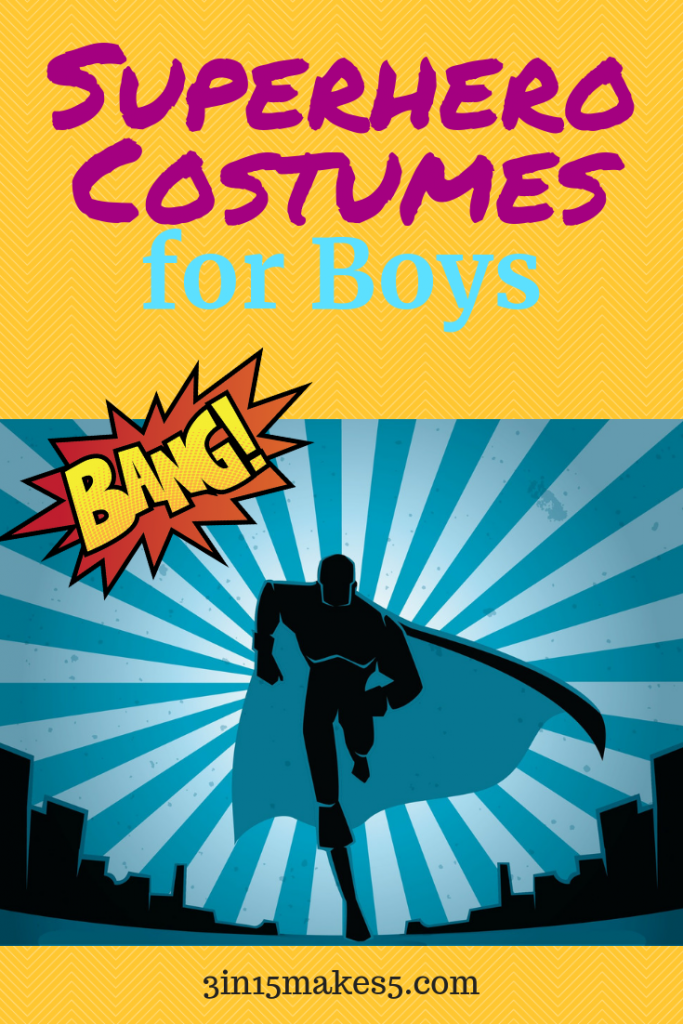 superhero costumes for boys
