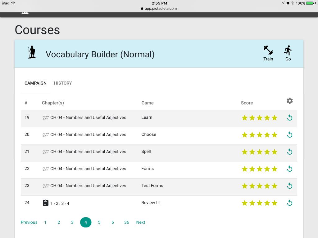 picta dicta vocabulary builder review