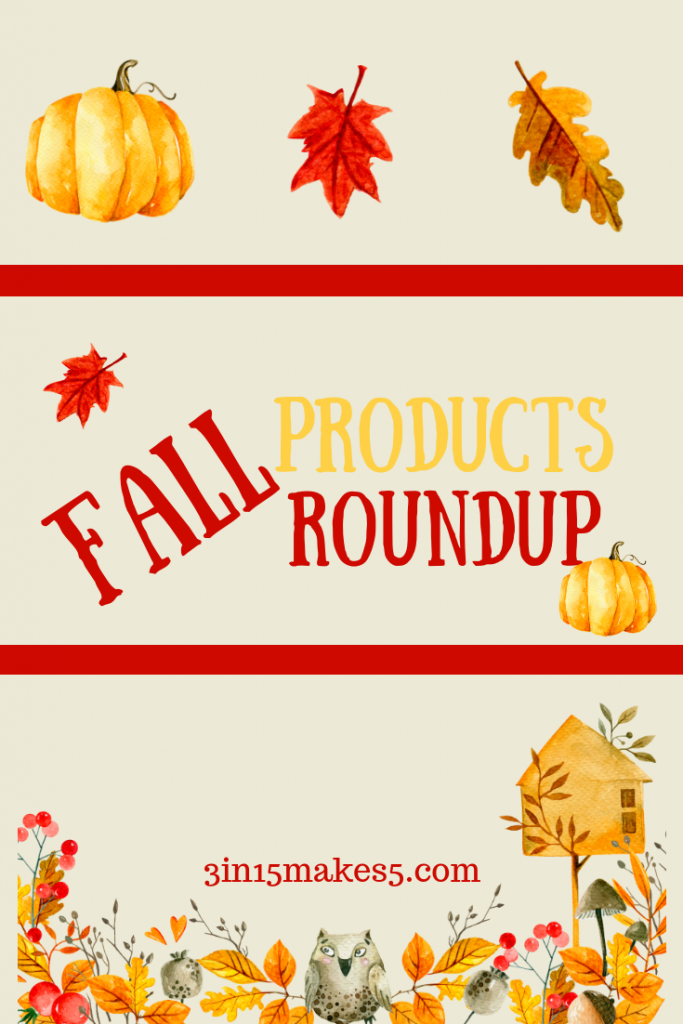 fall products roundup