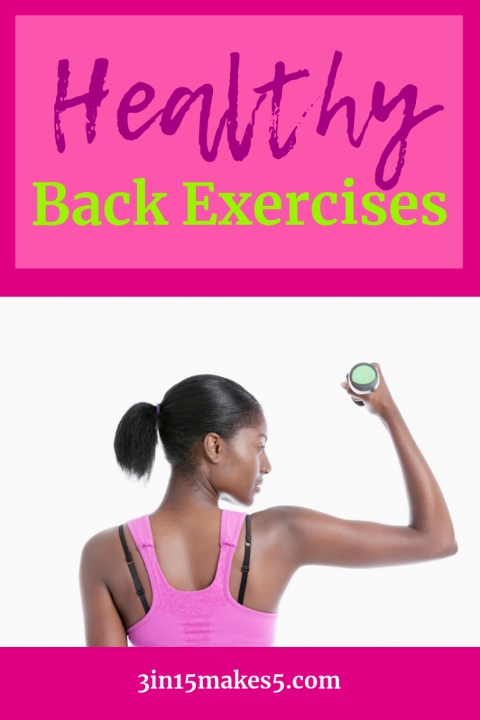 healthy back exercises