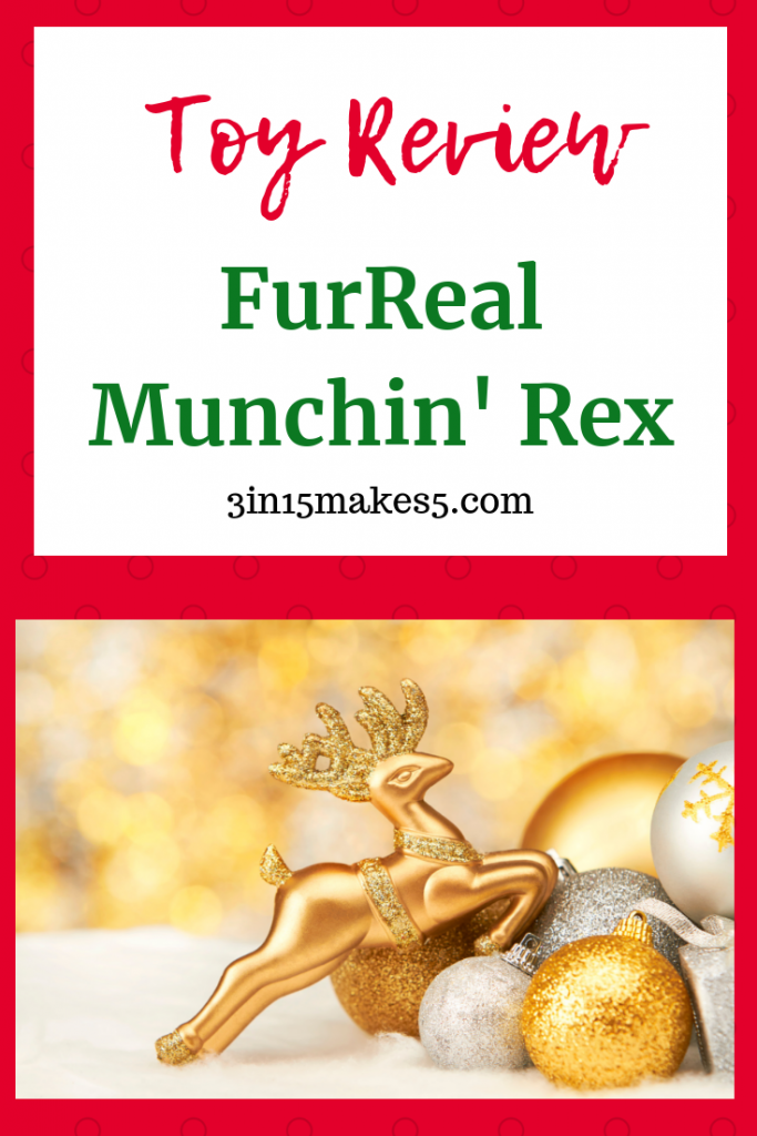 FurReal Munchin' Rex Review