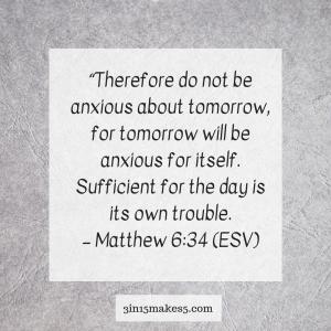 verse on anxiety